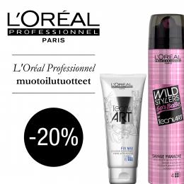 Valikoima L'Oreal Professionnel -20 %