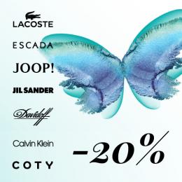 Valikoima tuoksuja -20 %