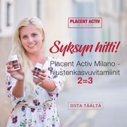 Placent Activ hair vitamins 2=3