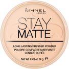 Rimmel London Stay Matte Long Lasting Pressed Powder (9g) 006 Warm Beige