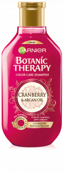 Garnier Botanic Therapy Argan Cranberry Shampoo (250mL)