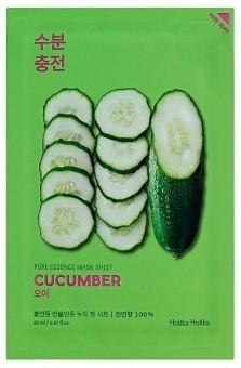 Holika Holika Kasvonaamio Pure Essence Mask Sheet - Cucumber