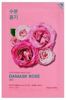 Holika Holika Kasvonaamio Pure Essence Mask Sheet - Damask Rose