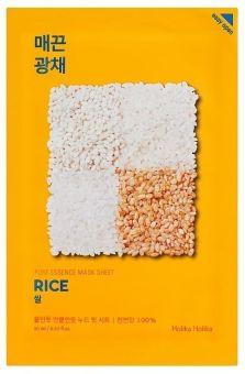 Holika Holika Kasvonaamio Pure Essence Mask Sheet - Rice
