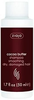Ziaja Cocoa Butter Shampoo Smoothing Dry Damaged Hair Travel Size (50mL)