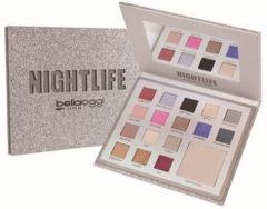 Bella Oggi Glitter Palette Paper Collection Nightlife