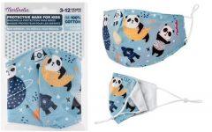 IDC Protective Mask For Children With Cotton Nose Clip Pandas