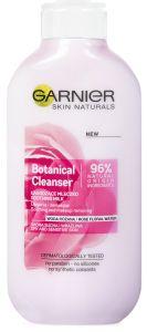 Garnier Skin Naturals Botanical Cleanser Milk Dry & Sensitive Skin (200mL) Rose Floral Water