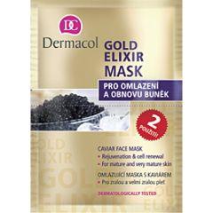 Dermacol Gold Elixir Mask (16mL)
