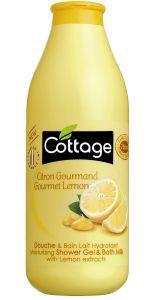 Cottage Bath&Shower Gel Gourmet Lemon (750mL)