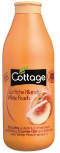Cottage Bath&Shower Gel Peach (750mL)