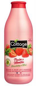 Cottage Bath& Shower Gel Strawberry & Mint (750mL)