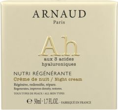 Arnaud Paris Nutri Regenerante Firming and Regenerating Night Cream for All Skin Types (50mL)