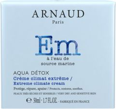 Arnaud Paris Aqua Detox Extreme Climat Protecting Cream for Very Dry and Sensitive Skin (50mL)