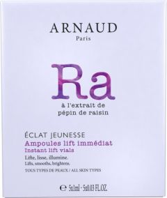 Arnaud Paris Eclat Jeunesse Rejuvenating Instant Beauty Lift Vials for All Skin Types (5x1mL)