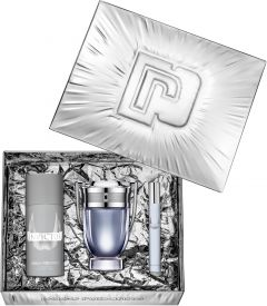 Paco Rabanne Invictus EDT (100mL) + Deospray (150mL) + EDT (10mL)