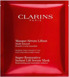 Clarins Super Restorative Instant Lift Serum Mask (30mL)