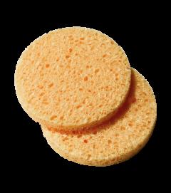 Peggy Sage Natural Cleansing Sponge (2pcs) Ø7cm