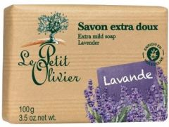 Le Petit Olivier Extra Mild Soap Lavender (100g)