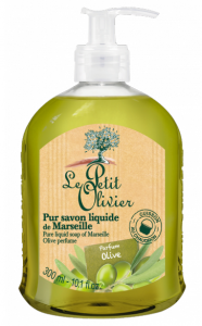 Le Petit Olivier Pure Liquid Soap of Marseille Olive (300mL)