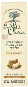 Le Petit Olivier Eye & Lip Contour Anti-Aging Argan Oil (15mL)