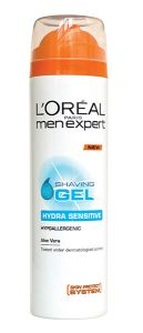 L'Oreal Paris Men Expert Hydra Sensitive Shave Gel (200mL)