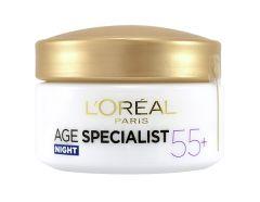 L'Oreal Paris Age Specialist 55+ Anti-Wrinkle Restoring Night Cream (50mL)