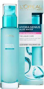 L'Oreal Paris Hydra Genius Aloe Water Moisturizer for Dry and Sensitive Skin (70mL)