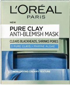 L'Oreal Paris Pure Clay Anti-Blemish Mask (50mL)