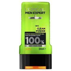 L'Oreal Paris Men Expert Shower Gel Clean Power (300mL)