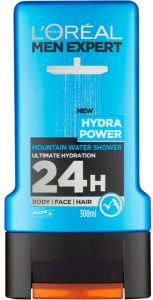 L'Oreal Paris Men Expert Shower Gel Hydra Power (300mL)