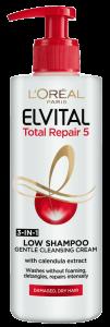 L'Oreal Paris Elvital Total Repair 5 Low Shampoo (400mL)