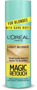 L'Oreal Paris Magic Retouch Dark Root Concealer Spray (75mL) Light Blonde