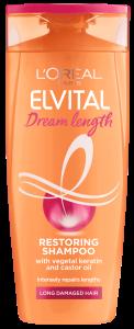 L'Oreal Paris Elvital Dream Length Restoring Shampoo (400mL)