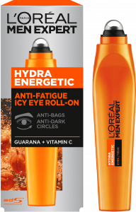 L'Oreal Paris Men Expert Hydra Energetic Roll-on Eye Cream (10mL)