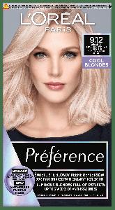 L'Oreal Paris Preference Cool Blondes Permanent Hair Color 9.12 Siberia