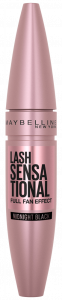 Maybelline New York Lash Sensational Midnight Black Rose Edition Mascara (9,5mL) Midnight Black