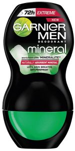 Garnier Men Mineral Extreme Roll-on Deodorant (50mL)
