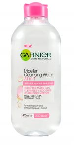 Garnier Skin Naturals Micellar Cleansing Water for Even Sensitive Skin (400mL)