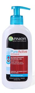 Garnier Pure Active Intensive Ultra Cleansing Charcoal Gel (200mL)
