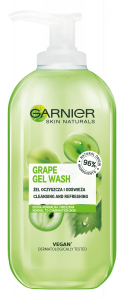 Garnier Skin Naturals Grape Gel Wash (200mL)