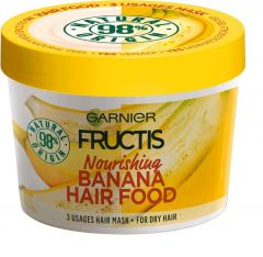 Garnier Fructis Hair Food Banana Nourishing 3-in-1 Mask for Dry Hair (390mL)