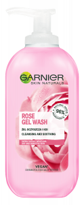 Garnier Skin Naturals Rose Gel Wash (200mL)
