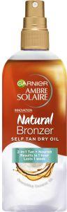 Garnier Ambre Solaire Natural Bronzer Self Tan Dry Oil (150mL)