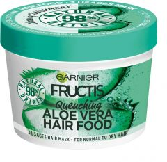 Garnier Fructis Hair Food Aloe Hydrating 3-in-1 Mask for Normal to Dry Hair (390mL)