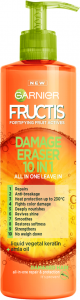 Garnier Fructis Goodbye Damage 10-in-1 Repairing Leave-in Cream for Damaged Hair (400mL)