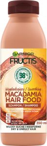 Garnier Fructis Macadamia Hair Food Shampoo (350mL)