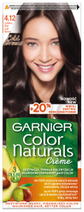 Garnier Color Naturals Creme Hair Color 4.12 Iced Brown