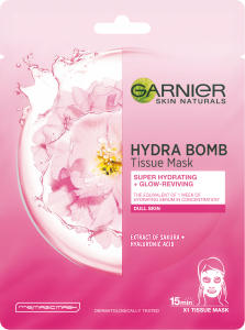 Garnier Hydra Bomb Glow Reviving Tissue Mask (28g)