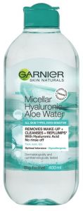Garnier Skin Naturals Hyaluronic Aloe Replumping Micellar Water for All Skin Types (400mL)